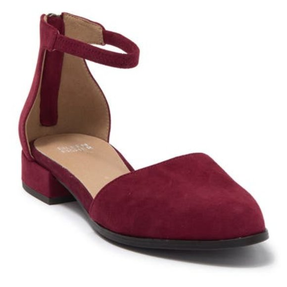 Eileen Fisher Hutton Ankle Strap Flat. New!